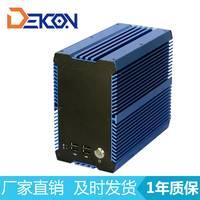 专业工控厂家***高可靠嵌入式无风扇整机 支持2个PCI槽扩展
