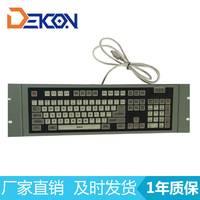 厂家直销工业上架式防水薄膜键盘 IBM PC/AT 兼容键盘