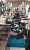 服装履带式流水线 单件流节拍流水线 服装单件流推框流水线