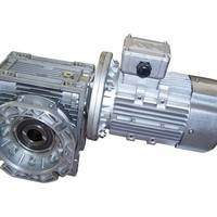 RV蜗轮蜗杆减速机(输出空心轴带法兰)