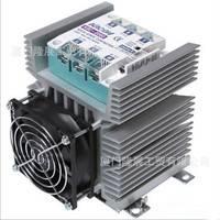 代理韩国凯昆KACON三相交流固态继电器+散热器+风扇KSC-5030HF