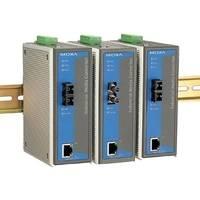 摩莎 MOXA IMC-101-S-SC 10/100BaseT(X) 转100BaseFX 光电转换器