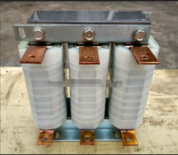 上海产1%干式铁芯低压输出电抗器132KW出线三相串联现货促销