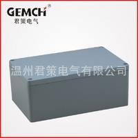 厂家供应 188*120*78 铸铝防水接线盒 铝制开关盒 电器密封防爆盒