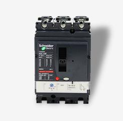 施耐德塑壳断路器带热磁脱扣单元三相三线空气开关NSX 3P16A~630A
