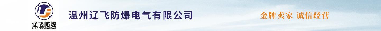 温州辽飞防爆 电气有限公司